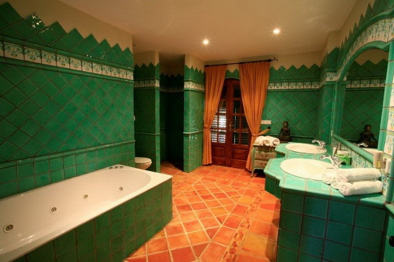 Casa Gazebo Ibiza, classic Bathrooms
