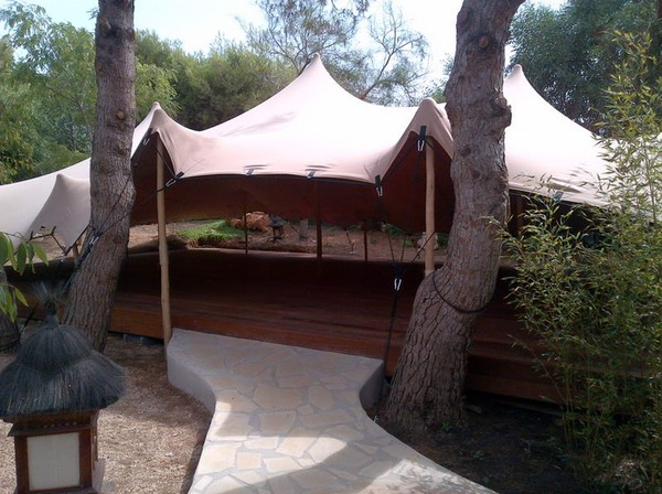 Casa Gazebo, IBIza, ZenmaX open air dojo