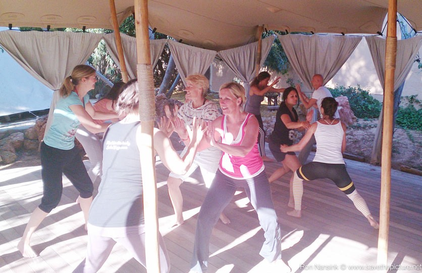 ZenmaX group balancing and energetic intermezzos- or yoga-retreats and workshops