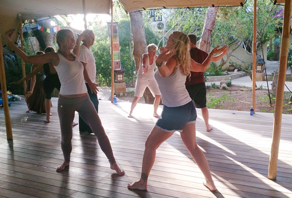 ZenmaX Body Orientated Mindfulness retreat Ibiza, breathing and coordination